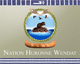 Drapeau de Wendake